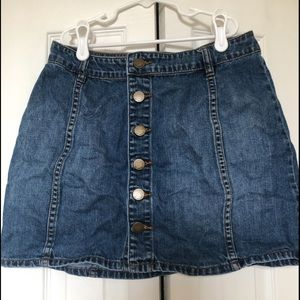Billabong Jean Mini-Skirt!